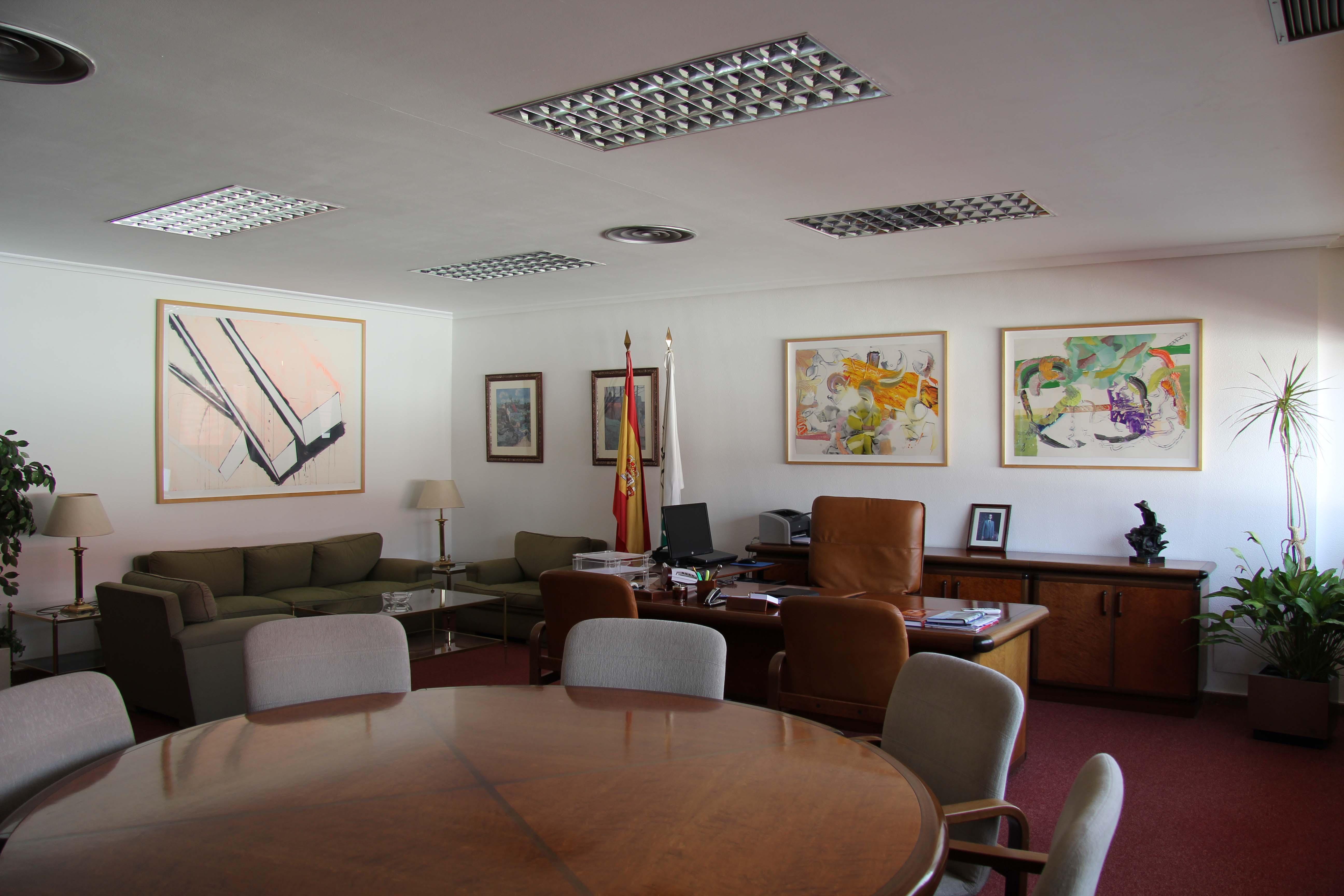 Despacho del presidente de Cetarsa