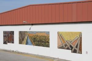 Exterior de la fabrica de Cetarsa en Navalmoral