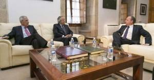 Reunión entre presidencia de Cetarsa y el gobierno de Extremadura